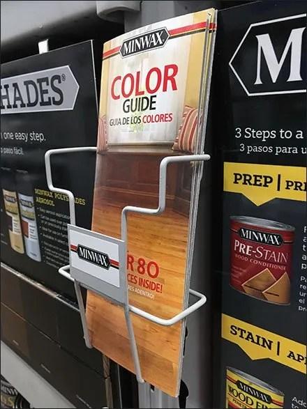 Minwax Multi-Station Literature Rack