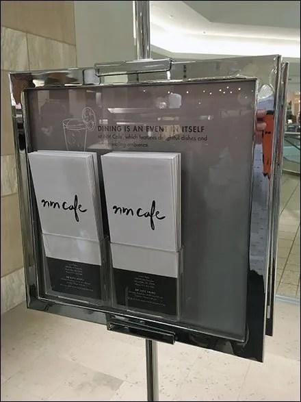 Neiman Marcus Cafe Menu-To-Go Main