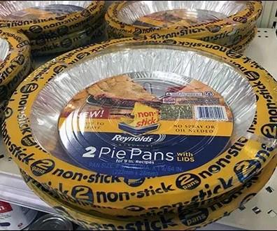 Non-Stick Pie Tin Promo by Reynolds