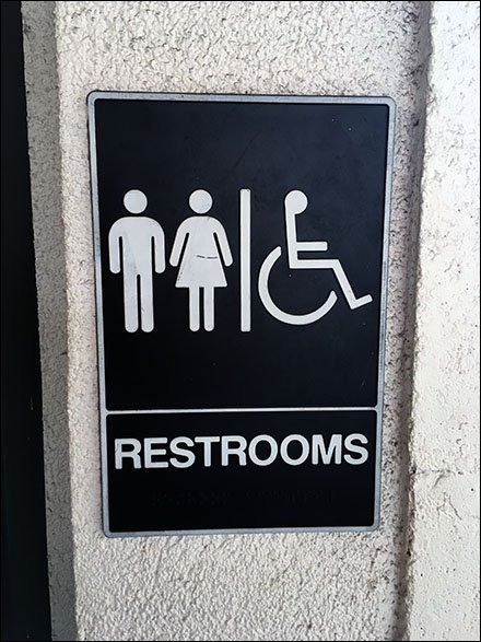Restroom All Kinds Welcome Unisex Icons Main