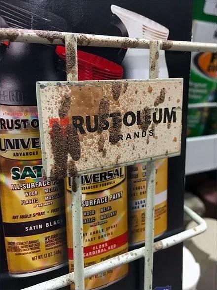 Rust-Oleum Branded One-Up Literature Rack Main