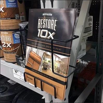 Rust-Oleum Restore Literature Rack 1