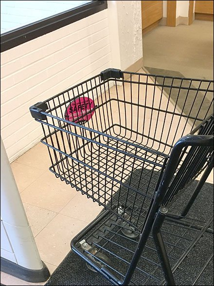 Shopping Cart Child Safety Warning 2