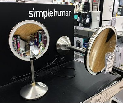Simple-Human Mirror Vertical & Horizontal