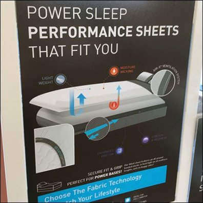 Sleepys BedGear Multi Display