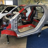 Mercedes Roll Cage Display for Smart Car Tridion Safety Cell
