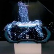 TDS INSTORE 3D Hologram Demos Indestructible Speakers