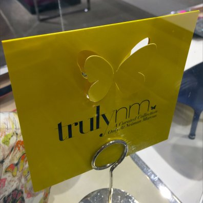Truly Neiman Marcus Butterfly Curated Museum Case 3
