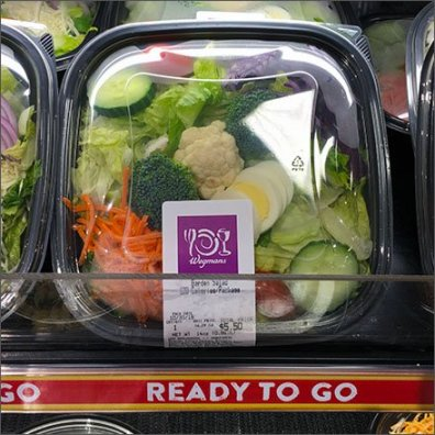 Wegmans REady-to-Go Veggie Bowls C-Channel Main