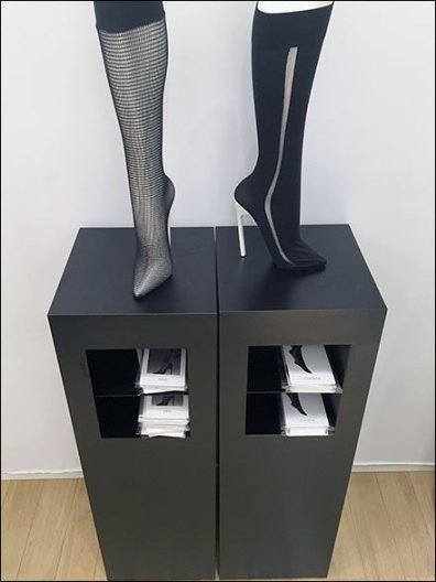 Wolford Segregated Hose Literature Holders 2