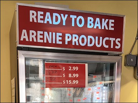 Arenie Armenian Ready To Bake Cooler CloseUp