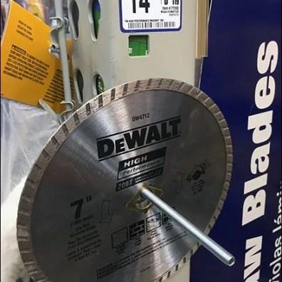 Circular Saw Blade Pallet Rack Upright Hanger 2