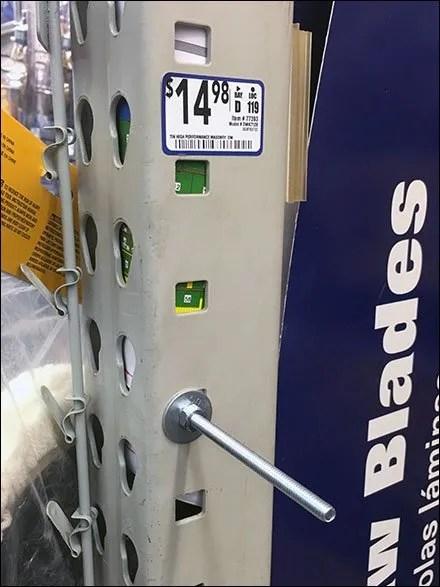 Circular Saw Blade Pallet Rack Upright Hanger 3