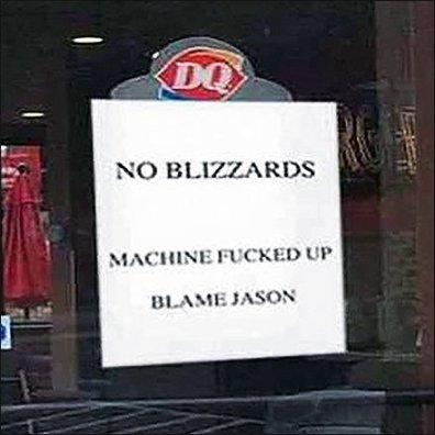 DQ No Blizzards Feature