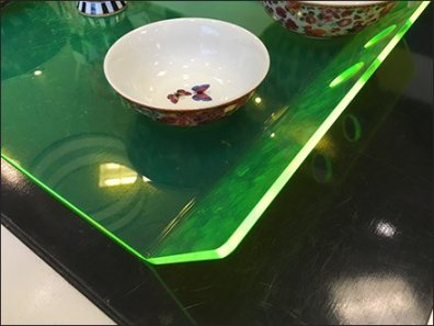 Edge-Lit Acrylic Tray Macys Tableware 3