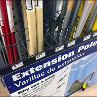 Extension Pole Grid Dividers Overall 2