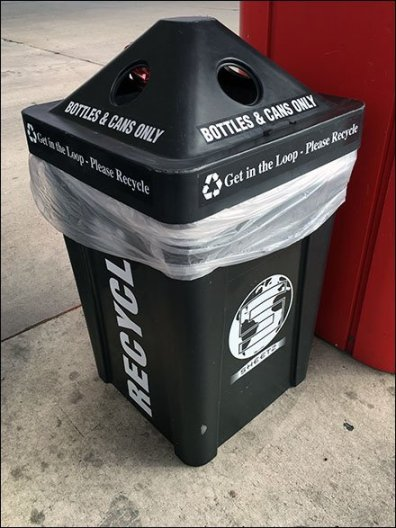 Four-Way Recycle Bin 1