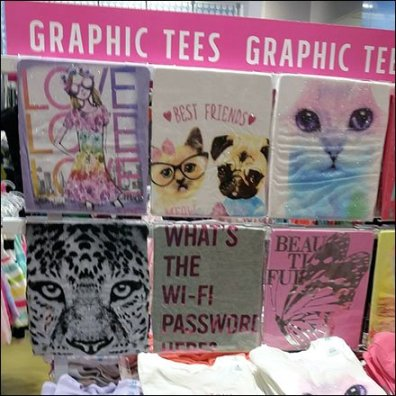 Girls Graphic Tees At Childrens Place 2