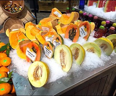 Gourmanoff Produce Assorted Iced Melons Main