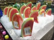 Gourmanoff Produce Assorted Iced Watermelon Aux