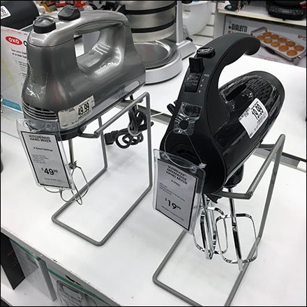 Hand Mixer Open Wire Table Stand Square