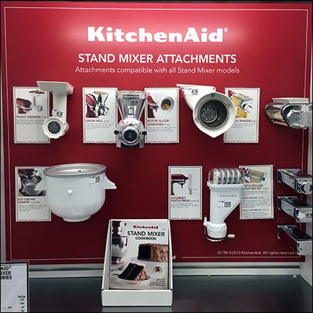 KitchenAid Mixer Attachments Wall