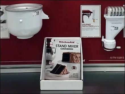 KitchenAid Mixer Literature Holder 3