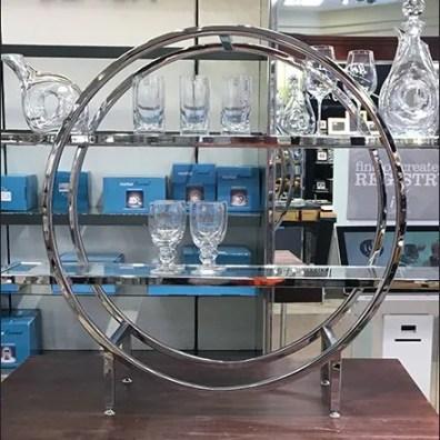 Lenox Glass Circular Display Rack 6