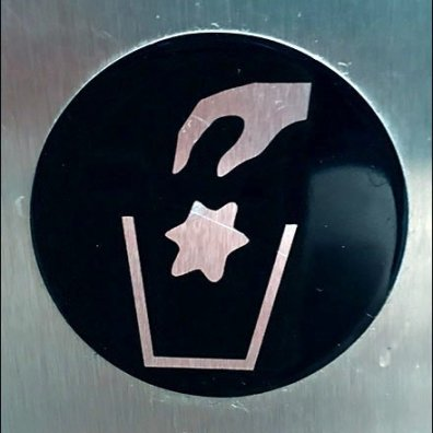 Locking Restroom Waste Container Icon v2