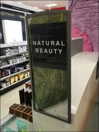 Natural Beauty Perforated Sign Holder 2