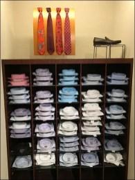 Necktie Pin-Up Board Standoffs 1