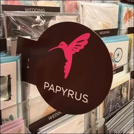Papyrus Hummingbird Branded Flag