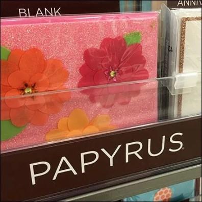 Papyrus Shelf-Edge Linear Branding