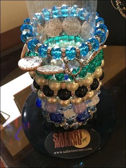 T bar as big as tow bar fixtures close up - Safari murano jewelry ...