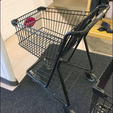 Shopping Cart Child Safety Warning 1