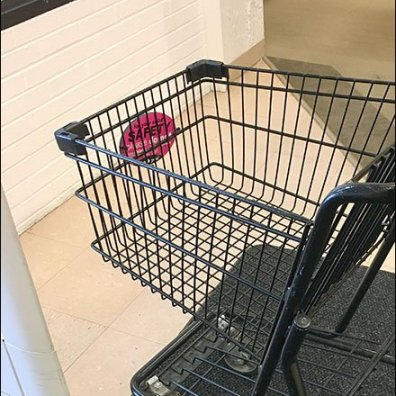 Shopping Cart Child Safety Warning 2