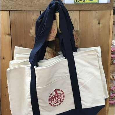Trader Joes Branded Reuasable Shopping Bag 2