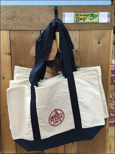 Trader Joes Branded Reuasable Shopping Bag Main