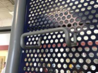 Auto Tire Perforated Metal Display Accessories 3