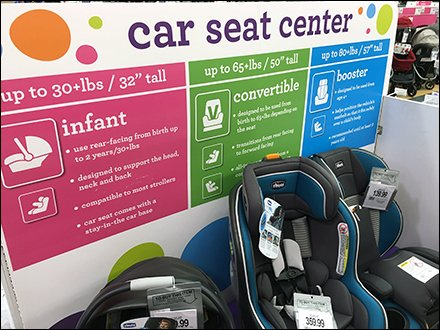 Babies R Us Car Seat Center Color Codes Main