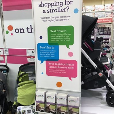 Babies R Us Shopping for Stroller Literature Holder 1