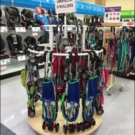 Tiered Tower Circular Rack for Umbrella Strollers