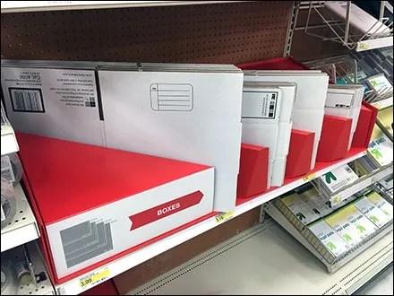 Corrugated Shipping Box Divider Display 1