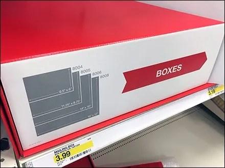 Corrugated Shipping Box Divider Display Main1