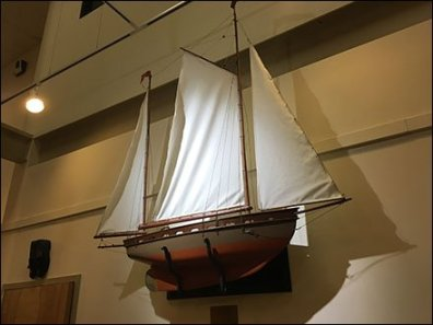 Dane Decor Ship Model 2
