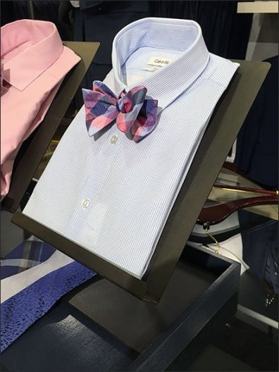 Dress Shirt Bow Tie Easels 1