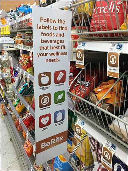 Follow THe Labels Color Code Snacks 1
