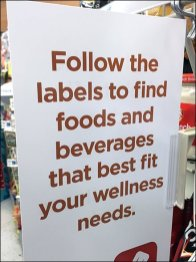 Follow-The-Labels Shelf-Edge Wellness Color-Codes Redux
