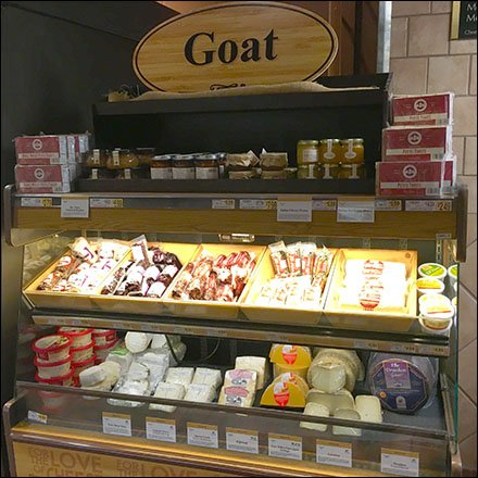 Goat Cheese Cooler Display Main