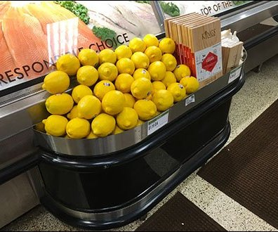 Kings Supermarket Fresh Lemon and Fish Sidecar Main